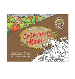 Brownpaper Mouse Coloring Book