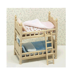 Calico Critters Bunk Beds -stack and play beds