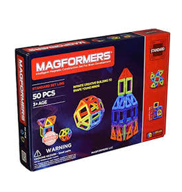 Magformer basic rainbow 50pc set