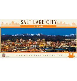American Vistas - Salt Lake City 1000pc Panoramic Puzzle