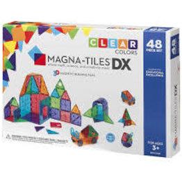 Magna-Tiles Clear Colors 48 Piece DX Set