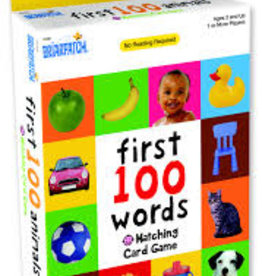 First 100 Words Matching Card Game