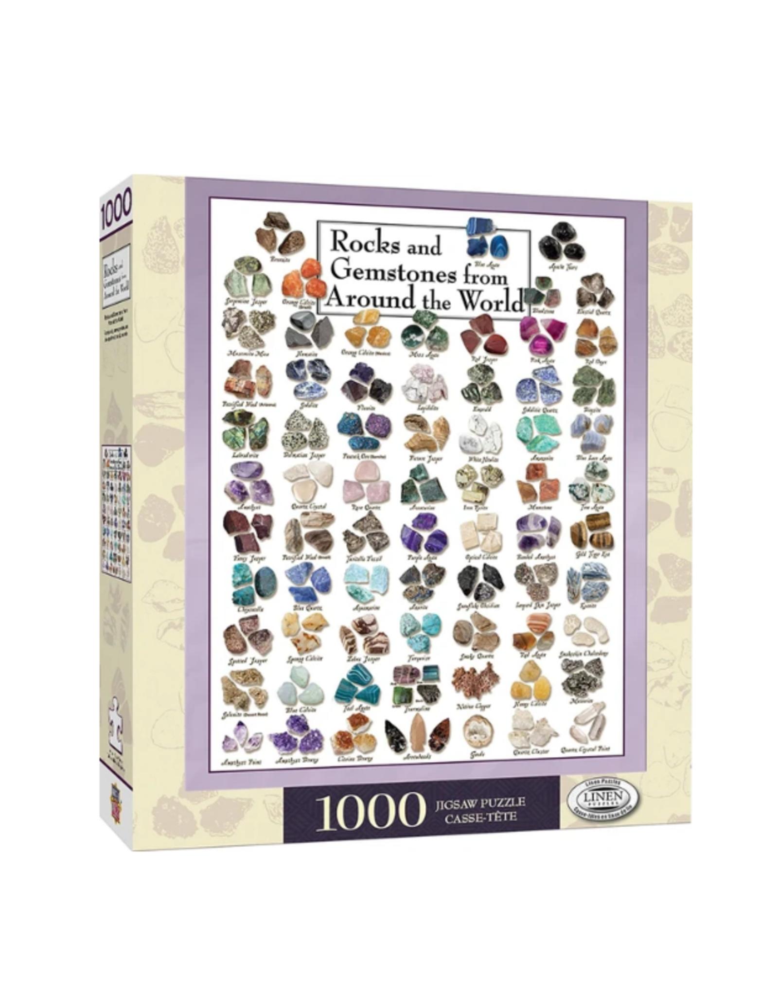 Poster Art - Gemstones 1000pc Puzzle