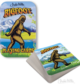 Accoutrements Bigfoot Playing Cards