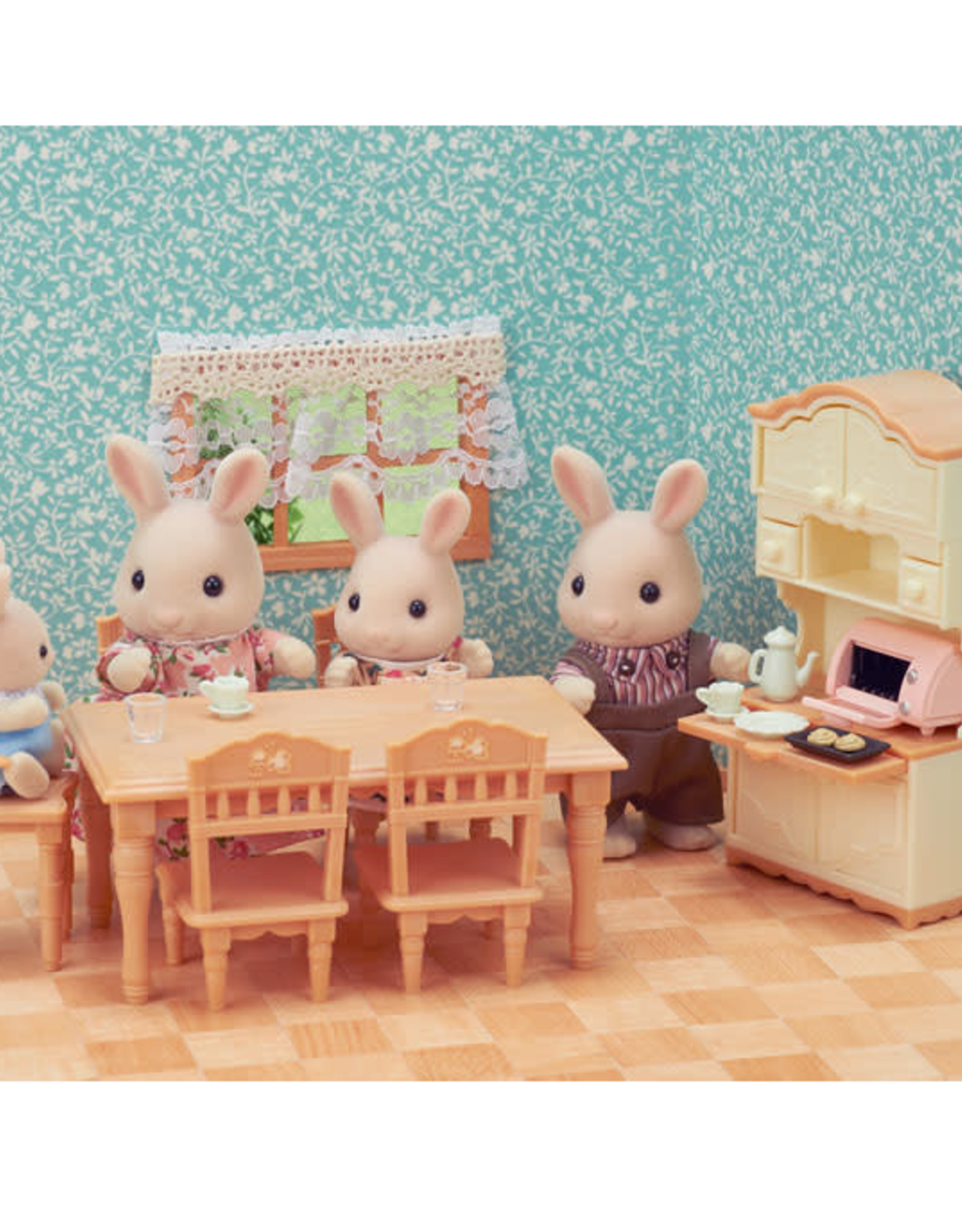 calico critter dining room set
