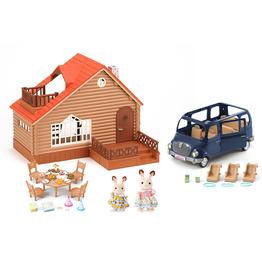 Epoch International Calico Critter Lakeside Lodge Gift Set