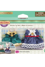 Calico Critters Dress Up Set (Blue & Green)