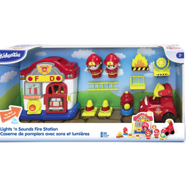 Kidoozie Lights 'n Sounds Fire Station