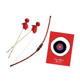 Two Bros Bows Dragon Bow (2 Red Arrows and Small Bullseye)