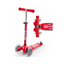 Mini Deluxe micro scooter- red