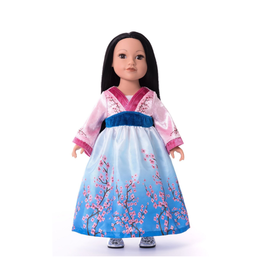 Doll Dress Cherry Blossom Princess