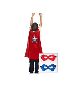 American Hero Cape & Mask Set Ages 3-8