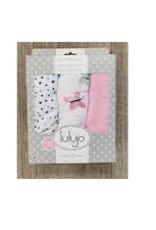 Mary Meyer Mini Muslin Cloths Butterfly - 3 PK