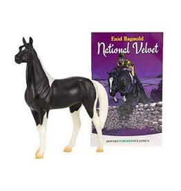 National Velvet horse and book set
