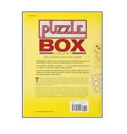 PUZZLE BOX , VOLUME 1