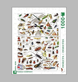 Insects - Insectes PUZZLE 1000