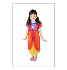 Snow White Nightgown with Red Robe (Size 6)