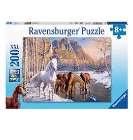 Winter Horses 200pc