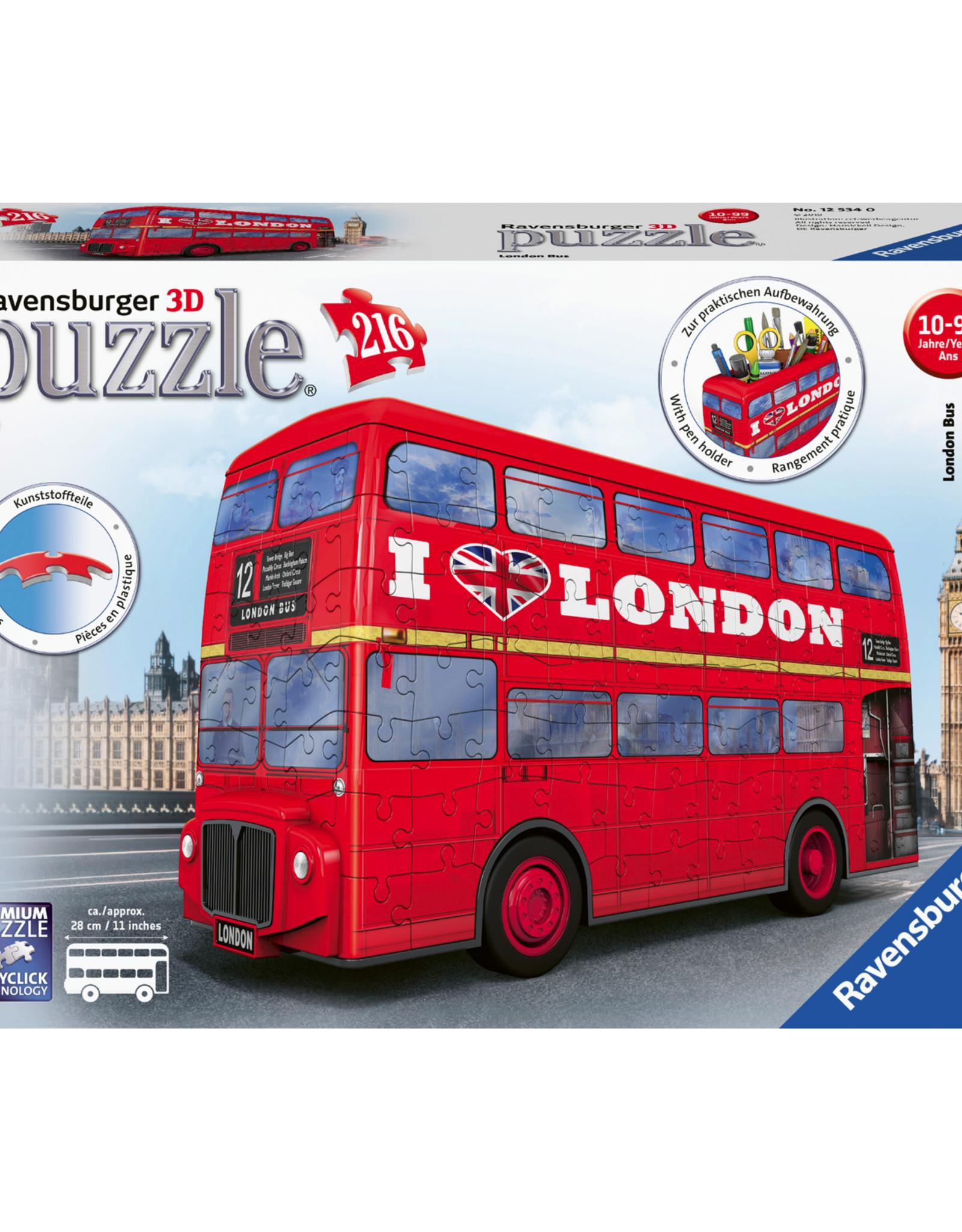 London Bus 3D Puzzle  (216 pc)
