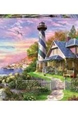1000 LIGHTHOUSE AT ROCK BAY puzzle