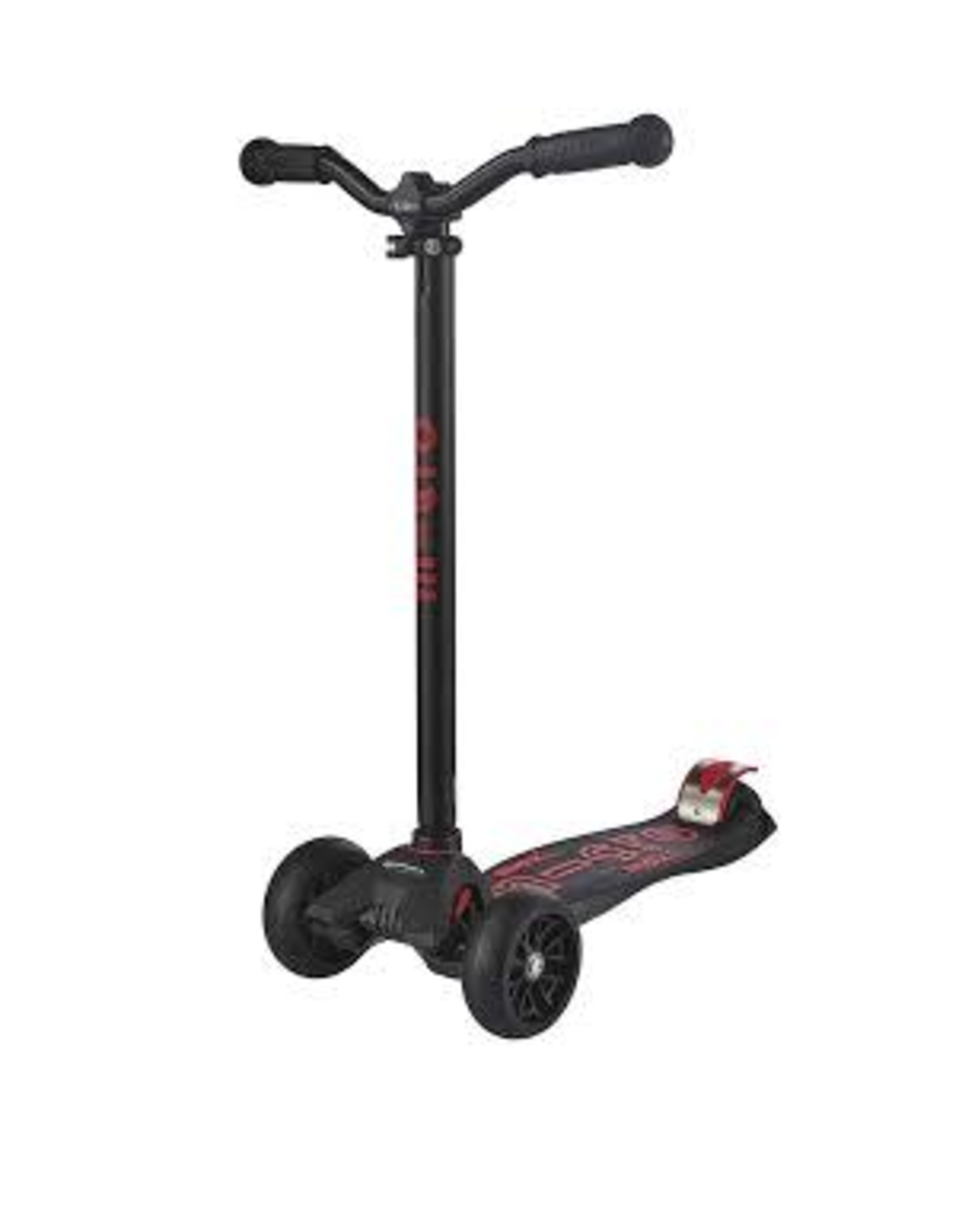 MAXI DELUXE PRO MICRO SCOOTER BLACK/RED