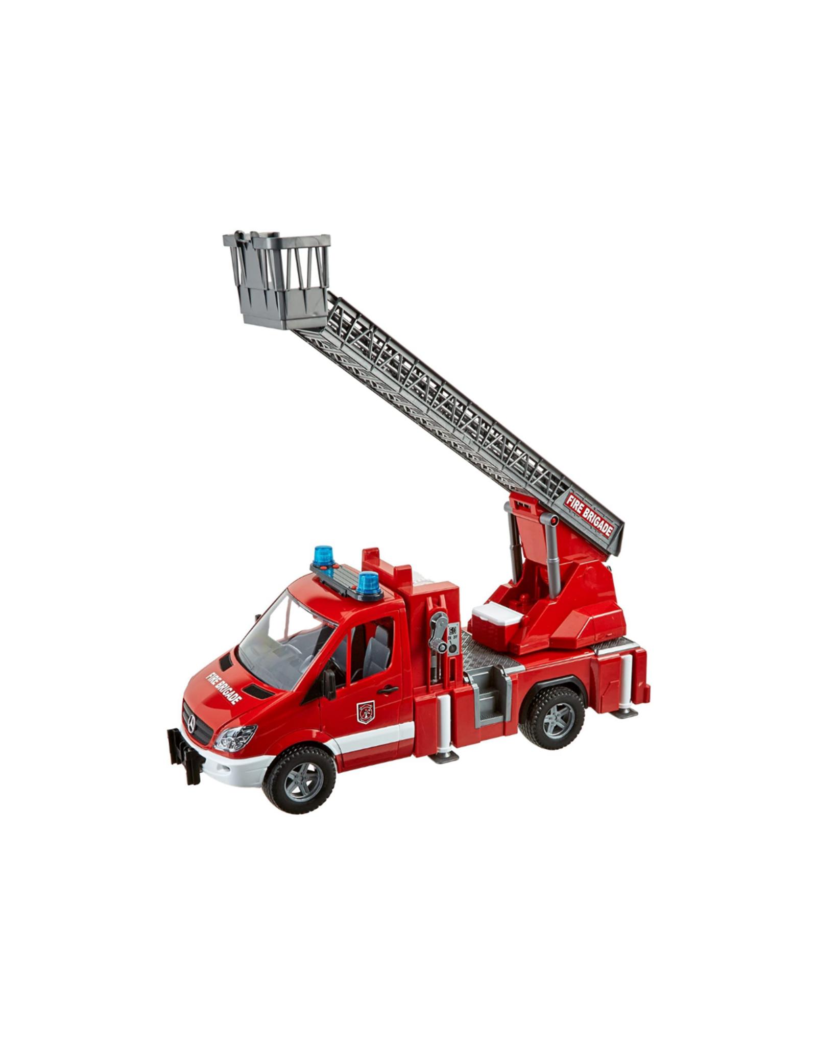 MB Sprinter Fire Engine w/ Water Pump, Light/sound