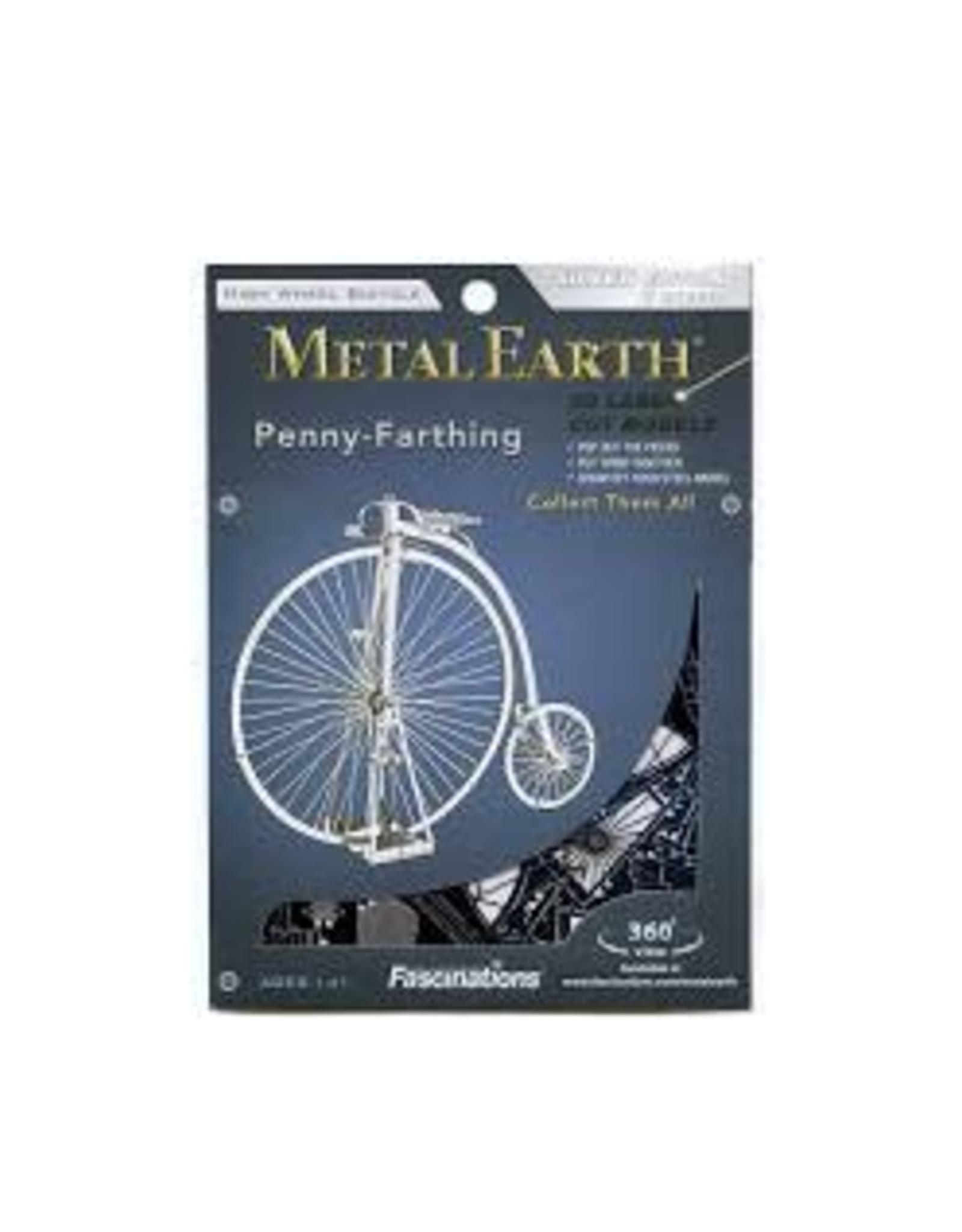 Metal Earth High Wheeled Bicycle