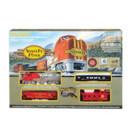 Bachmann Santa Fe Flyer Train Set -- HO scale