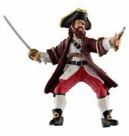 Barbarossa- pirate eye patch figure papo