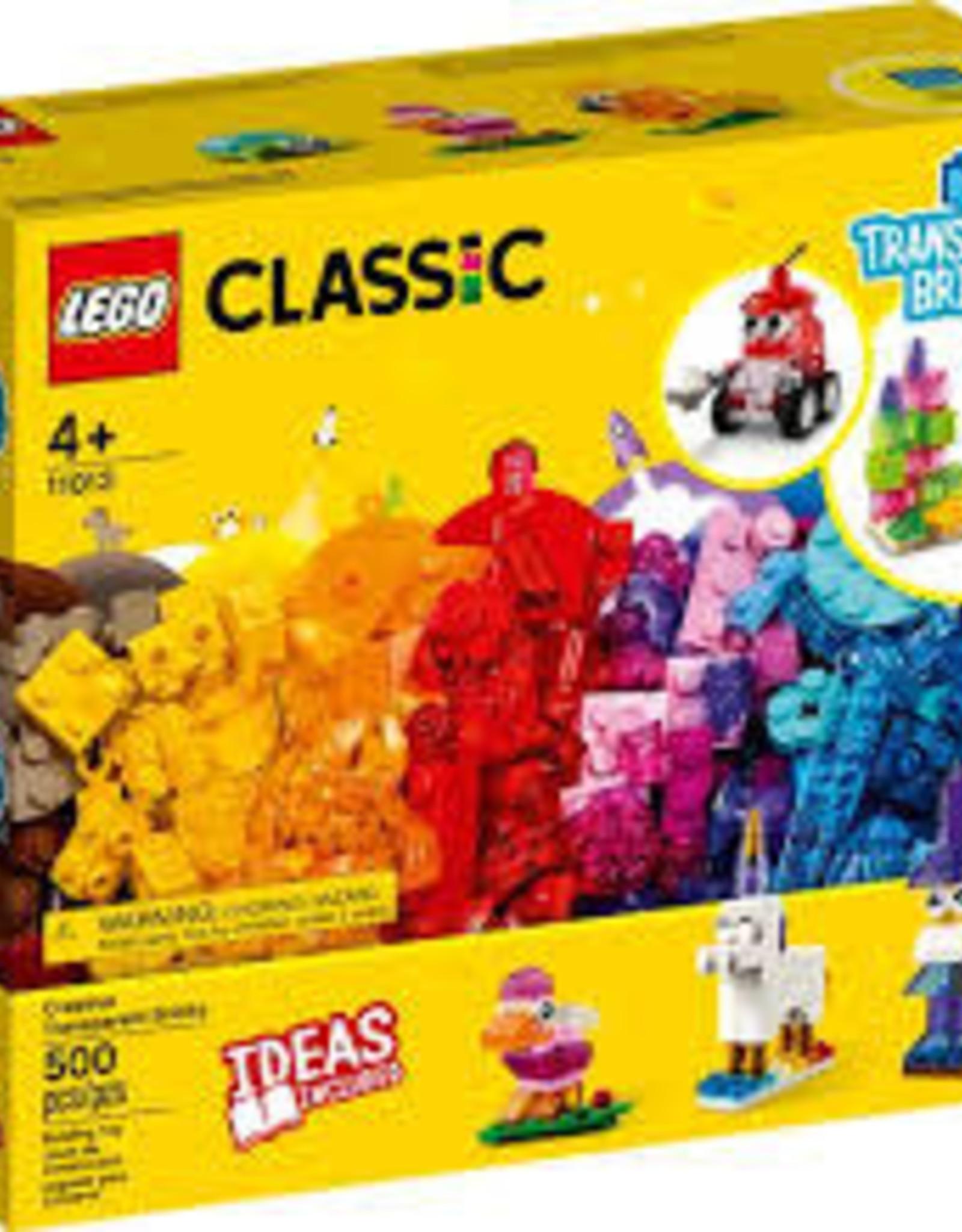 Classic Creative Transparent Bricks