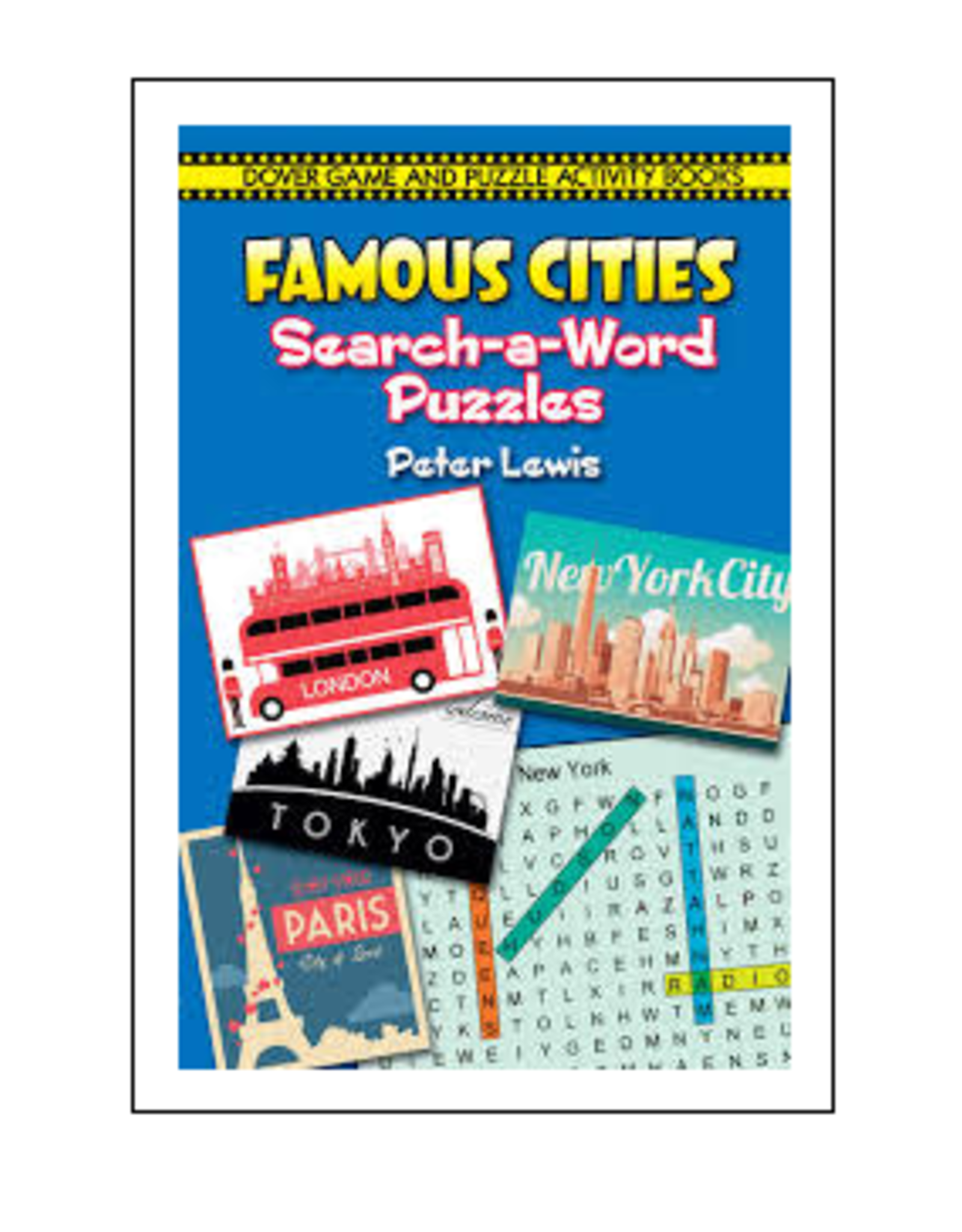 Dover Little Activity Books Famous Cities Search-a-Word