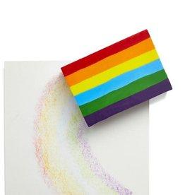 Kids Made Modern Rainbow Crayon block