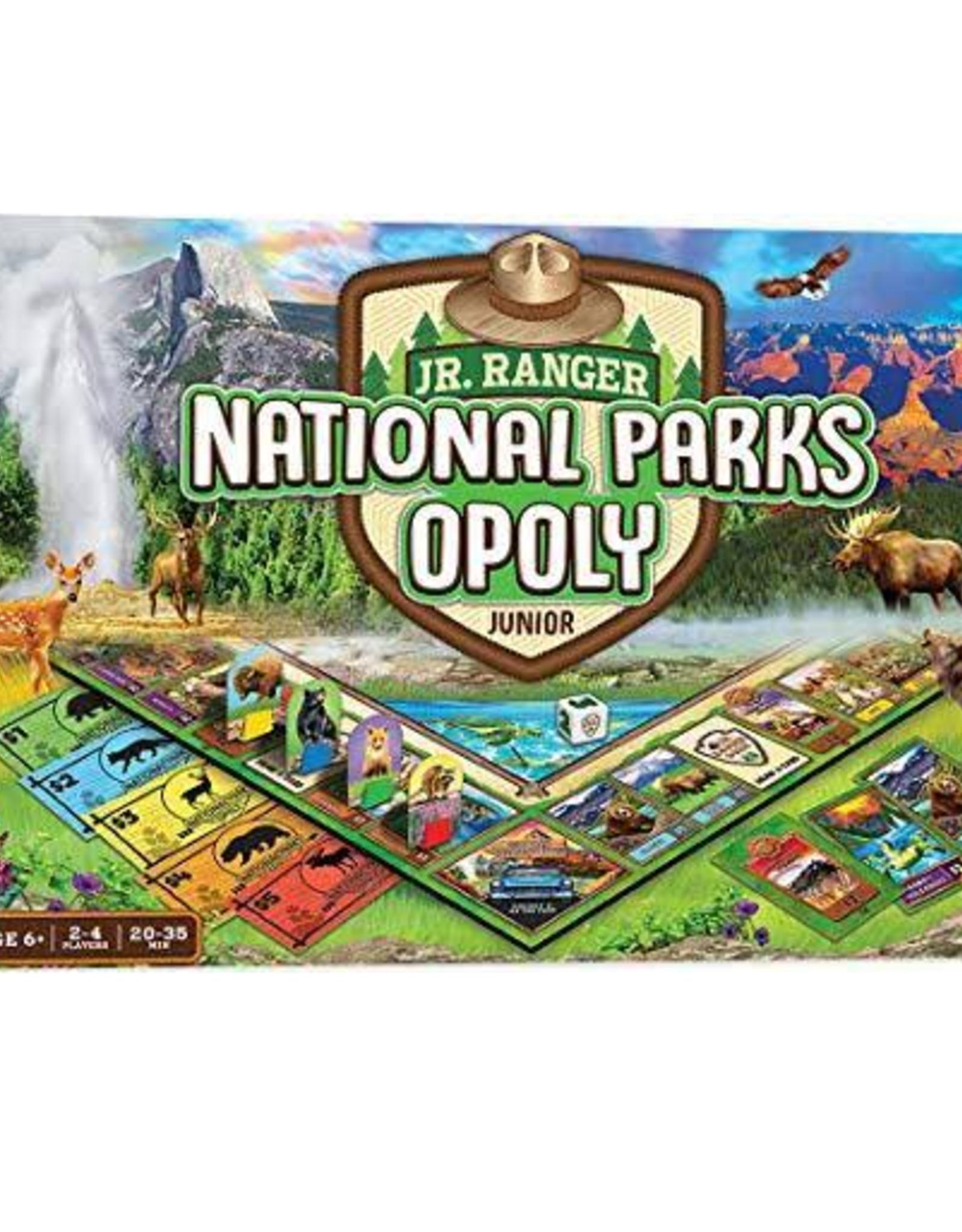 National Parks- Opoly Jr game