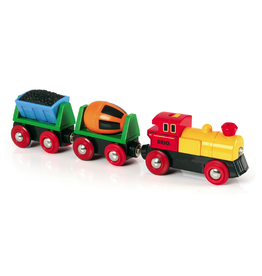 Brio Trains Battery Operated Action Train