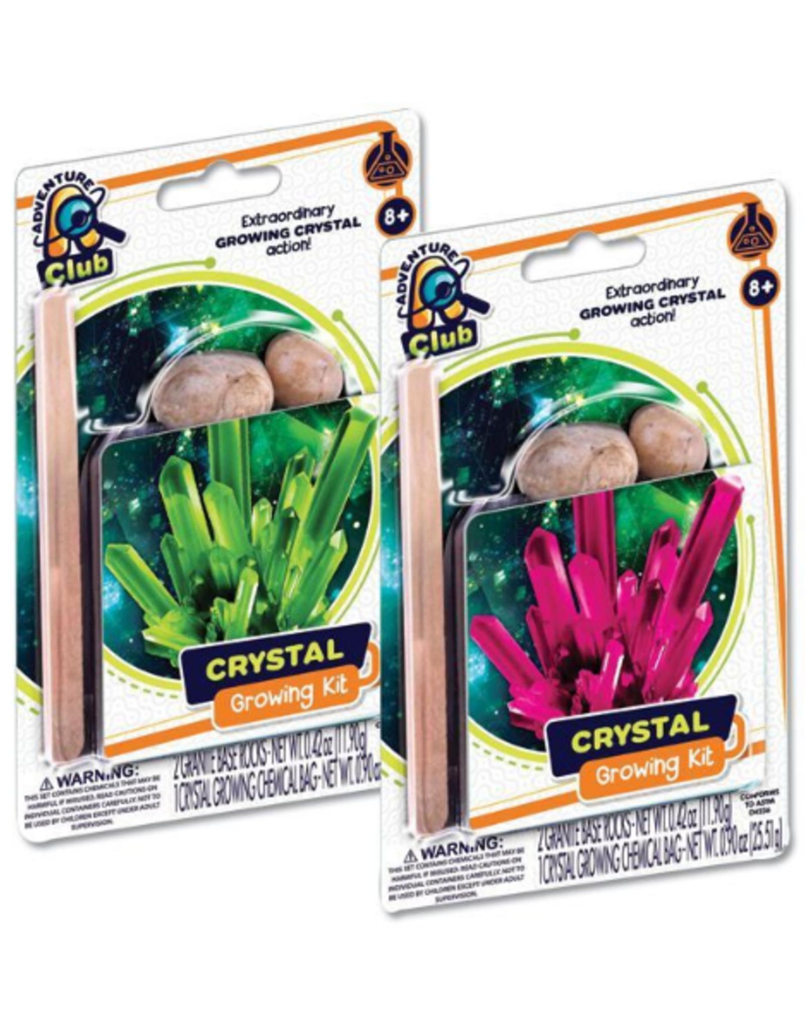 Crystal Growing Kit Asst