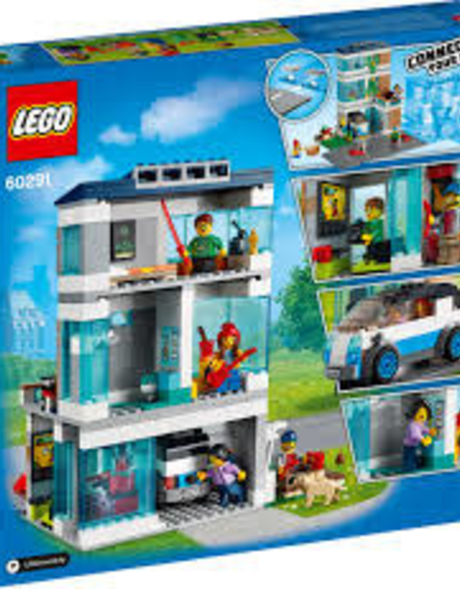 City: Town Family House
