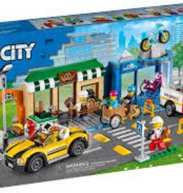 City: Town Shopping Street