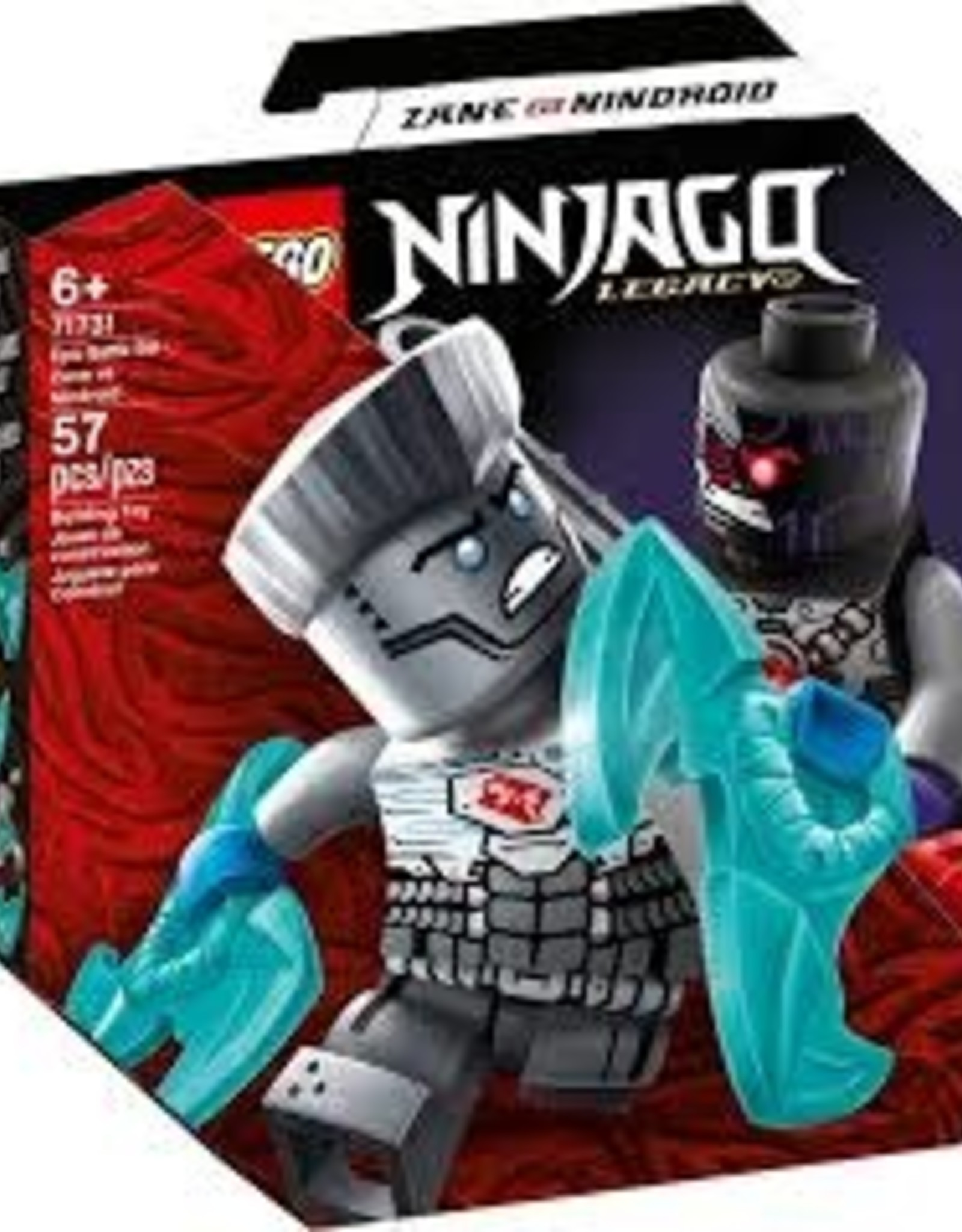 Ninjago Epic Battle Set Zane Vs. Nindroid