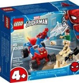 Marvel Spider-man and Sandman Showdown