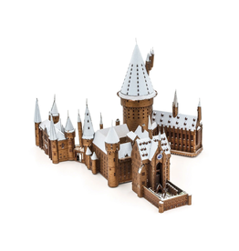 Metal Earth Hogwarts In Snow (Color)