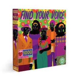 Find Your Voice Puzzle 1000pc - Eeboo
