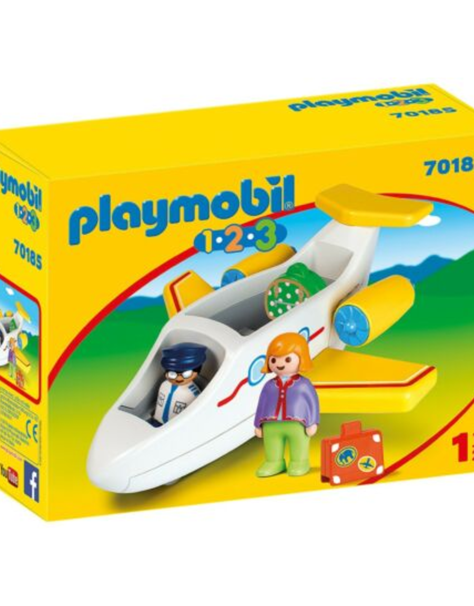 1-2-3 Airplane with Passenger