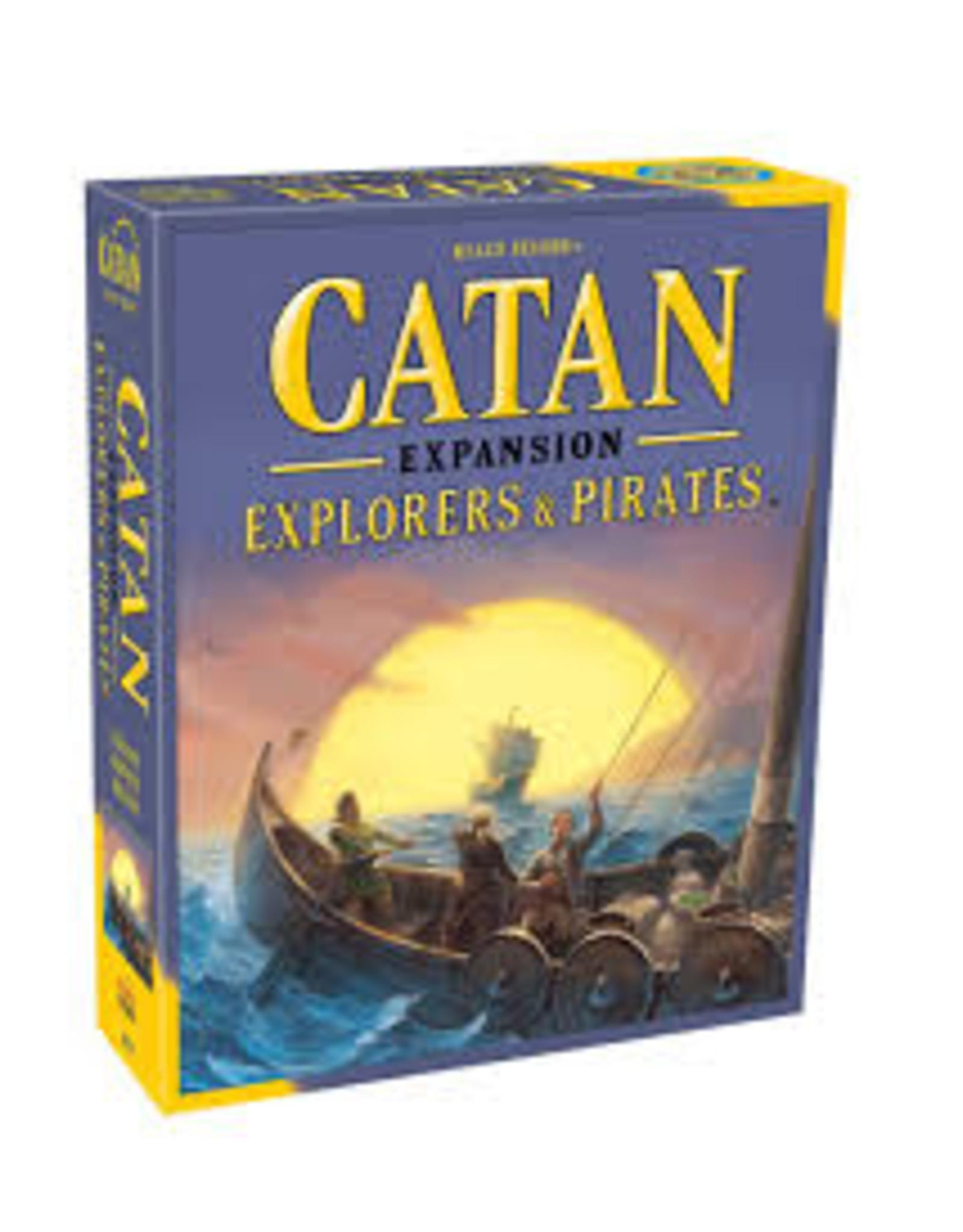 Catan Expansion: Explorers & Pirates - asmodee