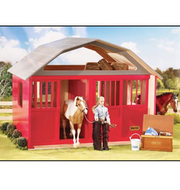 Reeves International Painted Deluxe Two Stall Barn
