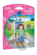 Girl with Kitten Playmobil