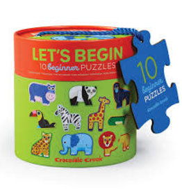 LET'S BEGIN JUNGLE PUZZLE 10PC.