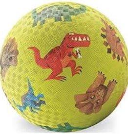 "Crocodile Creek Crocodile Creek 5"" Playground Ball/ Dinosaurs Green"