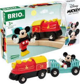 Brio Trains Mickey Mouse Battery Train
