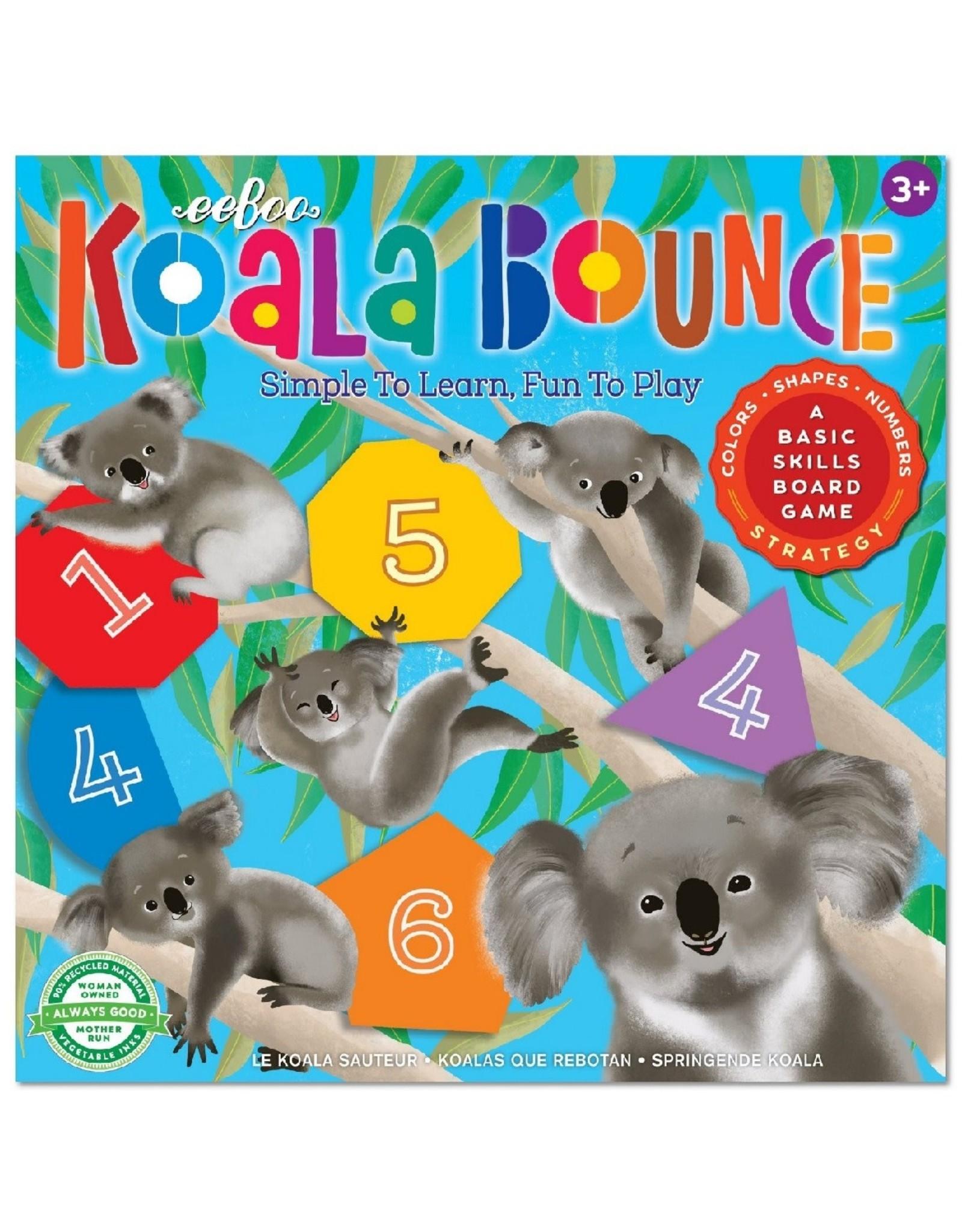 Koala Bounce Board Game - EEBOO