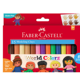 Faber-Castell World Colors Modeling  Clay (15ct)